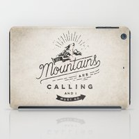 mountains iPad Cases featuring Mountains by Seaside Spirit