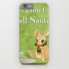 Bunny Santa Card Slim Case iPhone 6s