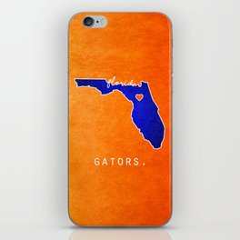 Gators iPhone Skin