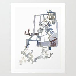 Sebastian De Haro, 'Towards a Theory of Emergence for the Physical Sciences' 1 Art Print