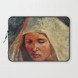 12,000pixel-500dpi - Bela Cikos Sesija - A study of a woman's head - Digital Remastered Edition Laptop Sleeve