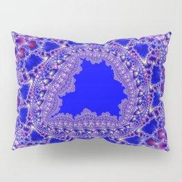 Fractal Fretwork Pillow Sham