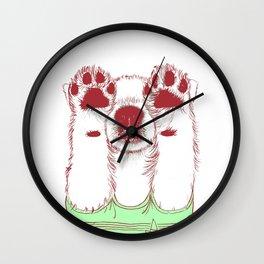pop puppy Wall Clock