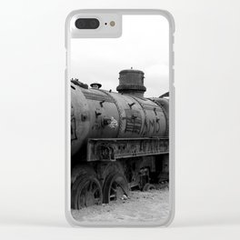 Abandoned Clear iPhone Case