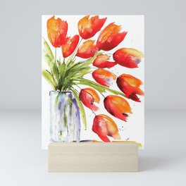 Tulips Overflowing Mini Art Print