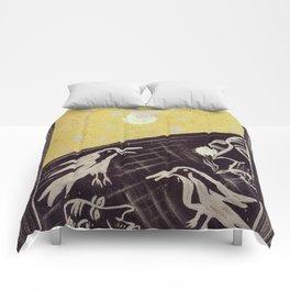 Birds of the moon Comforters
