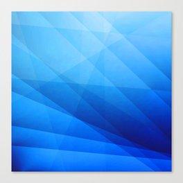 Nexus Blue Canvas Print