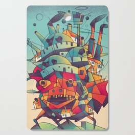 Moving Castle Cutting Board
