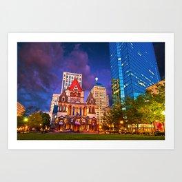 Trinity Church, Boston, MA Art Print