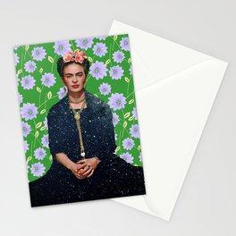 Flowers Frida Kahlo VI Stationery Cards