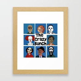 The Crazy Bunch Framed Art Print