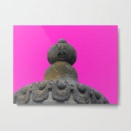 Neon Turret Metal Print