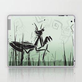 Praying Mantis by Kathy Morton Stanion Laptop & iPad Skin