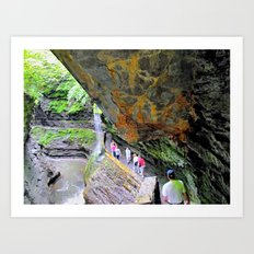 Ithaca is Gorges Art Print