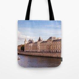Paris Seine River Tote Bag