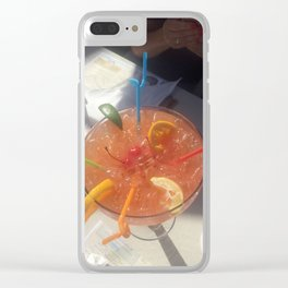 Drink To Share Clear iPhone Case