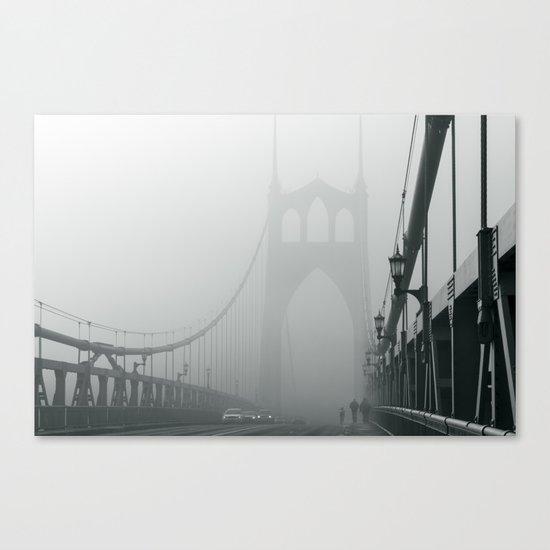 Grey St. Johns Canvas Print