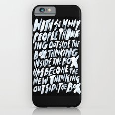 GET BACK IN THE BOX Slim Case iPhone 6s