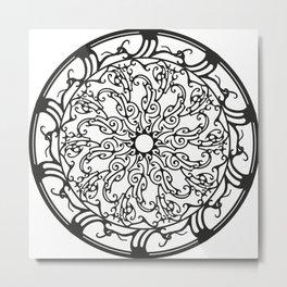 Circle 3 Metal Print