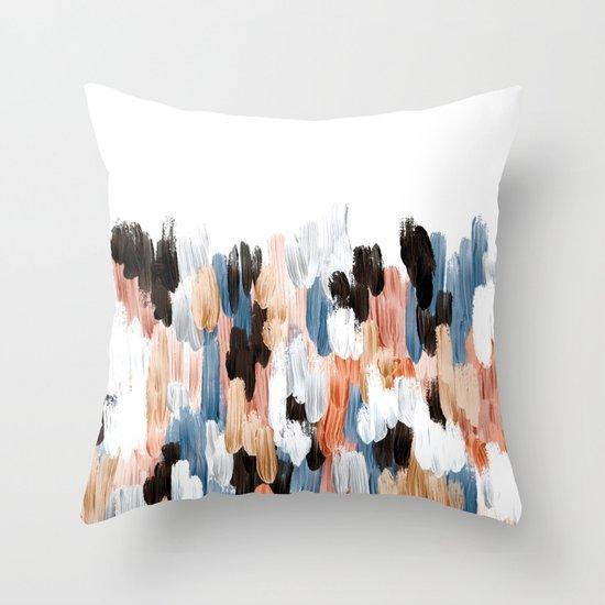 Copper II Throw Pillow