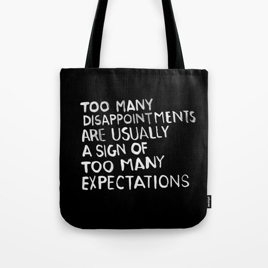 Disappointments /2/ Tote Bag