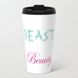 LiftLike a Beast Look Like a Beauty Lifting Gym T-Shirt Travel Mug