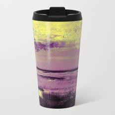 Yellow Color Patches Travel Mug