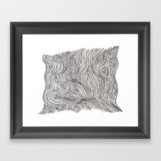 brainmap Framed Art Print