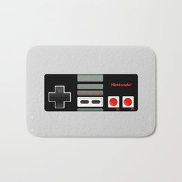 Classic retro Nintendo game controller iPhone 4 4s 5 5c, ipod, ipad, tshirt, mugs and pillow case Bath Mat