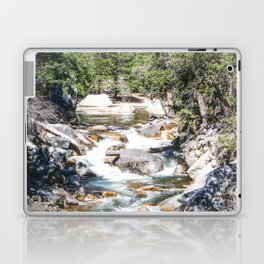Merced River From the Mirror Lake Trail Laptop & iPad Skin