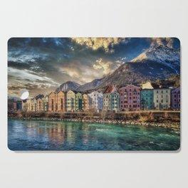 Riverside Innsbruck, Austria Photographic Cutting Board