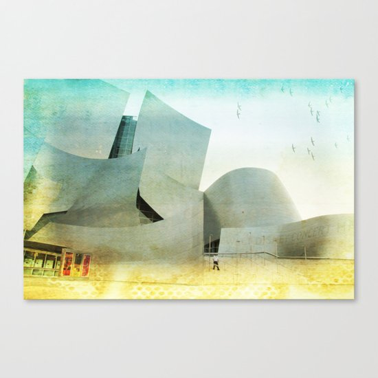Walt Disney Concert Hall _ Los Angeles Canvas Print