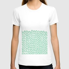 Half Knit Mint T-shirt