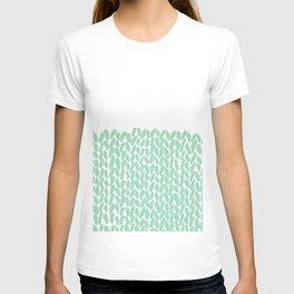 Half Knit Mint T-shirt