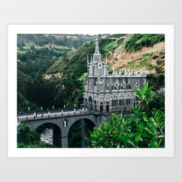 Lajas Sanctuary (Colombia) Art Print
