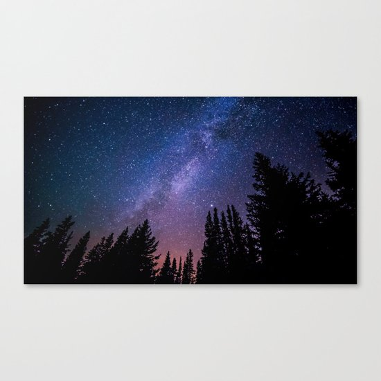 colourful universe Canvas Print