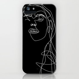 Modern Picasso by Sher Rhie 1 iPhone Case