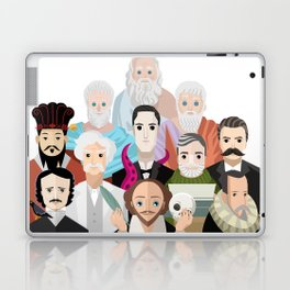 great philosophers and writers from all times Laptop & iPad Skin