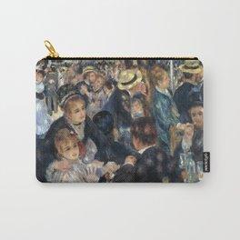 Auguste Renoir -Bal du moulin de la galette, Dance at Le moulin de la Galette Carry-All Pouch