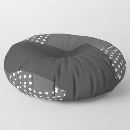 Grey abstract abstract Floor Pillow