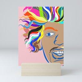 Hendrix Mini Art Print