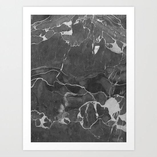 Grey Shadows Art Print