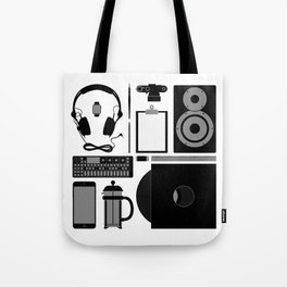 Studio Objects Vector Illustration Tote Bag