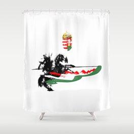 Hungarian Hussar Shower Curtain