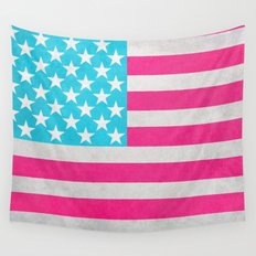 USA Flag Wall Tapestry