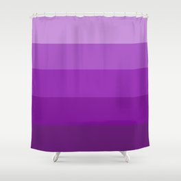 Lavender Abstract Shower Curtain