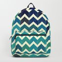 Colorful Chevron Pattern V by uniqued