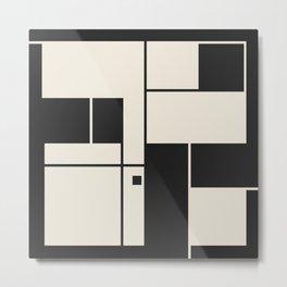 De Stijl / Bauhaus series 1 Metal Print