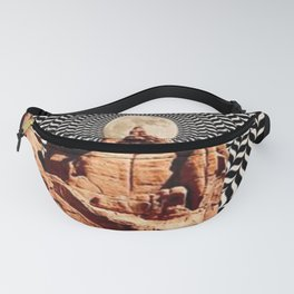 Illusionary Road Trip Fanny Pack