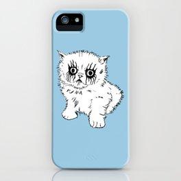Black Metal Kitty iPhone Case